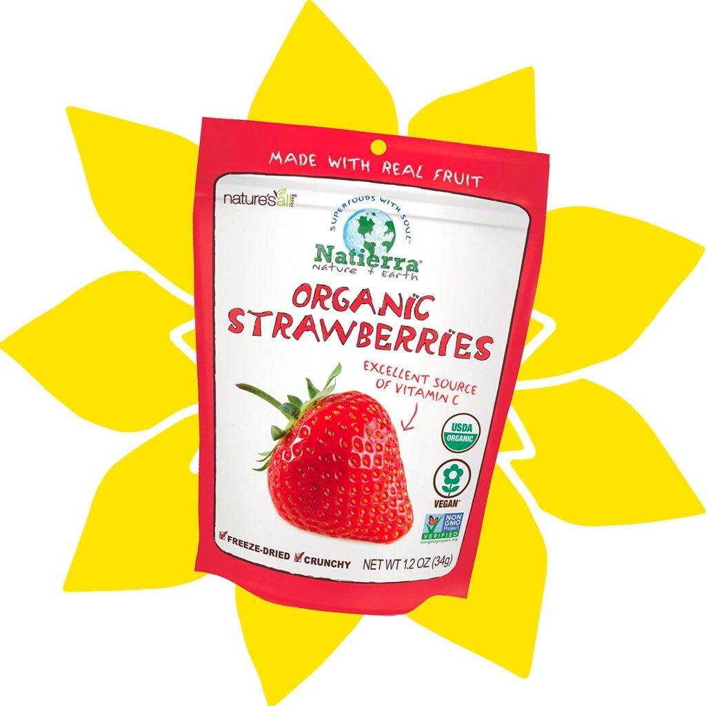 freeze dried strawberries