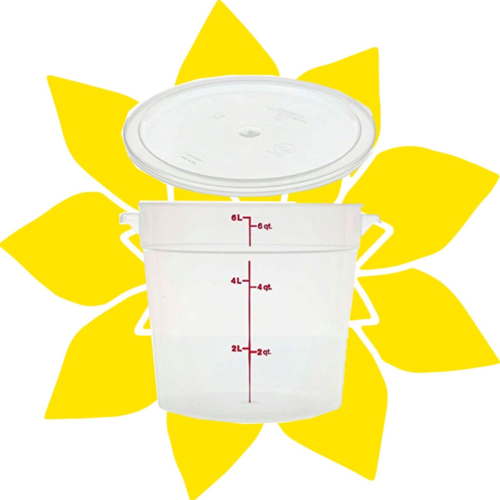 cambro proofing bucket