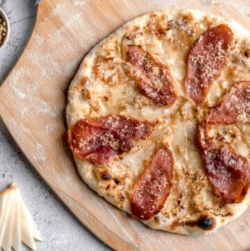 charcuterie board pizza