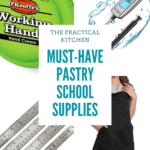 must have pastry school supplies pinterest image