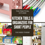 kitchen tools and organizers for short people