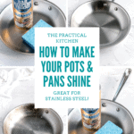bar keeper's friend the trick to making pots and pans shine