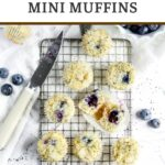 lemon blueberry mini muffins