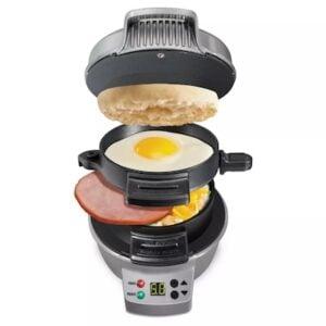 a breakfast sandwich maker