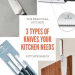 3 types of kitchen knives you need