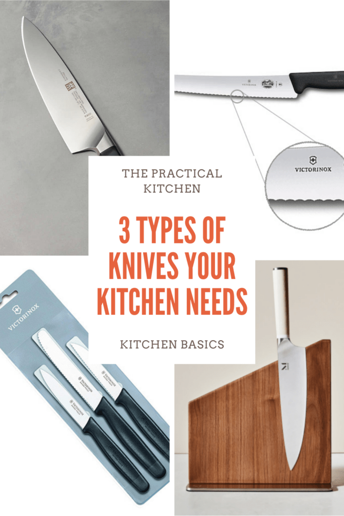 3 types of knives your kitchen needs