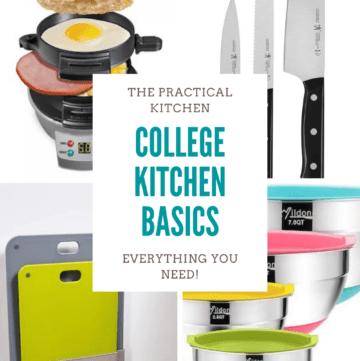 college kitchen basics
