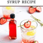 strawberry soda syrup recipe