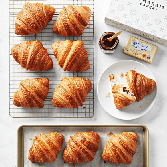 croissants and jam gift box