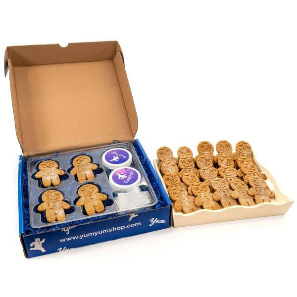 box of gingerbread people